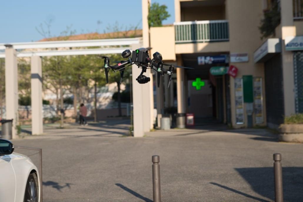 Peut On Faire De La Photogrammétrie En Ville ? | drone pour photogrammétrie | aérotriangulation photogrammétrie | drone topographie