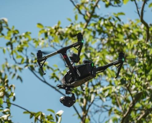 Cameraman Avec Drone à Avignon | Chef Opérateur Vaucluse Inspire 2