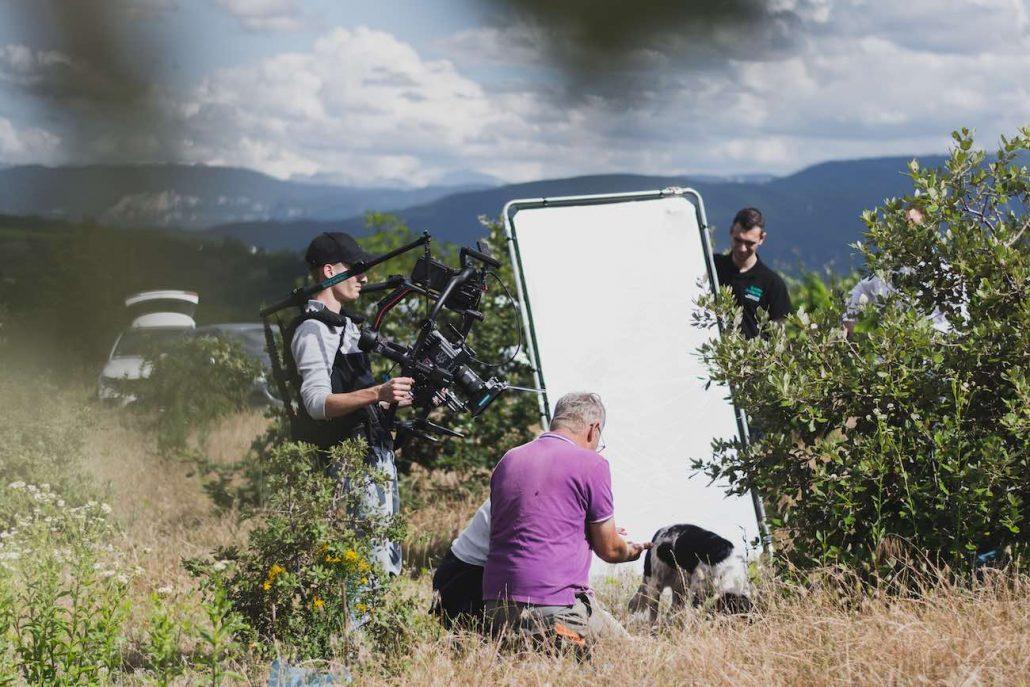 Camera Haut De Gamme Pour Tournage De Spot Publicitaire