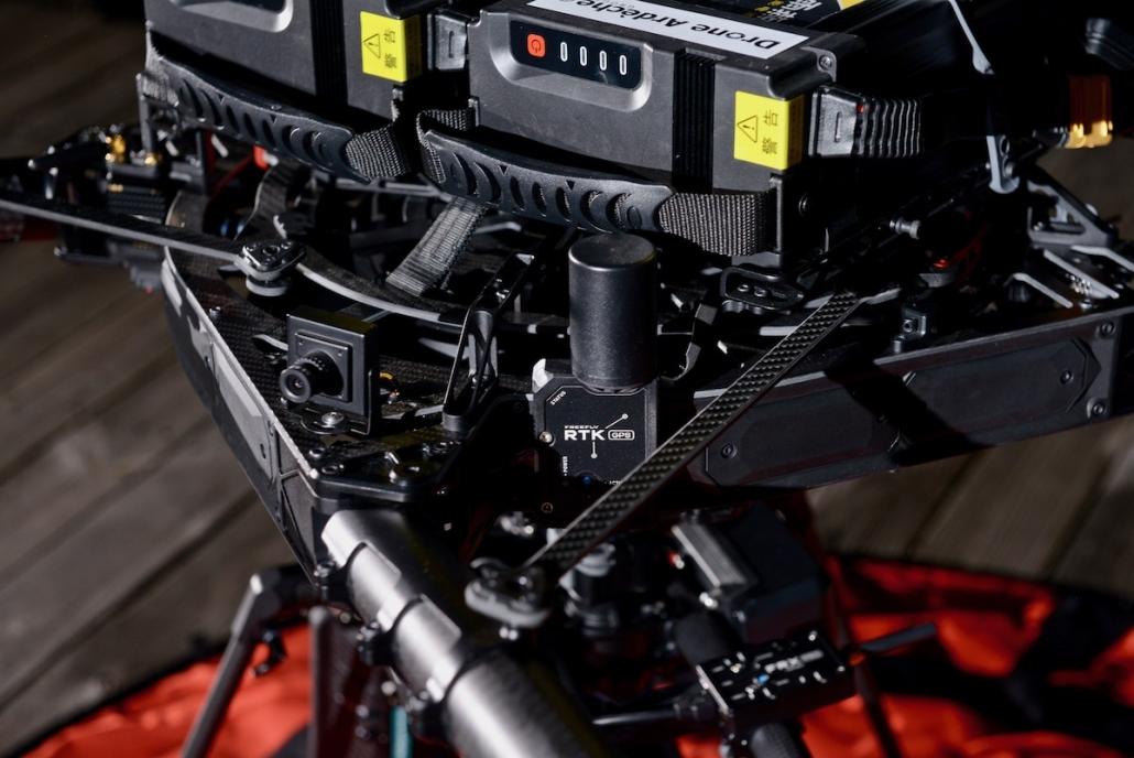 Alta X Camera Fpv Et Recepteur Rtk Location Drone Avec Pilote