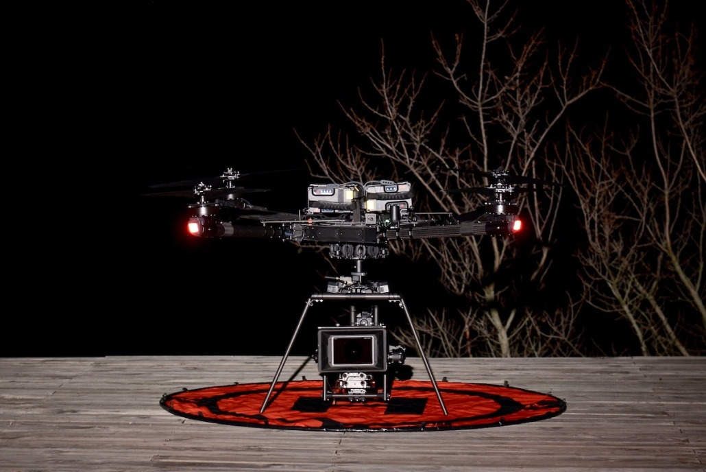 Drone Cinema Freefly Alta X France  | Setup Cinema drone professionnel