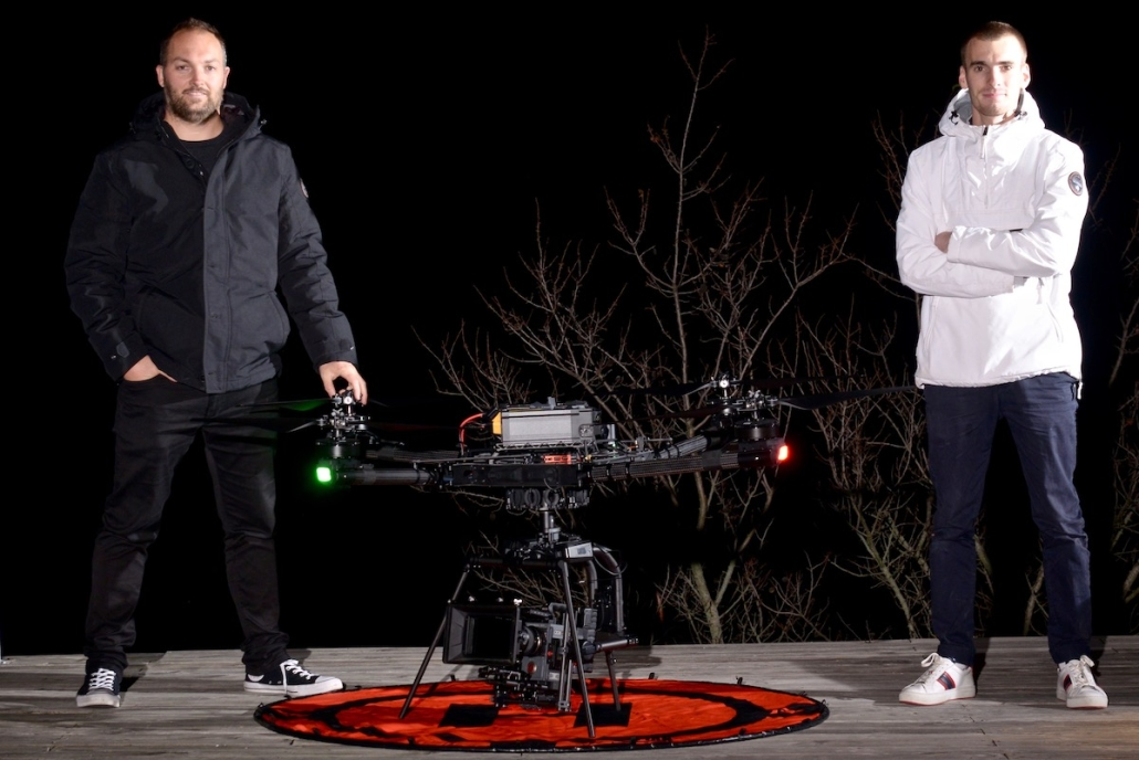 Prestataires Drone Cinema Avec Drone Gros Porteur Freefly Alta X