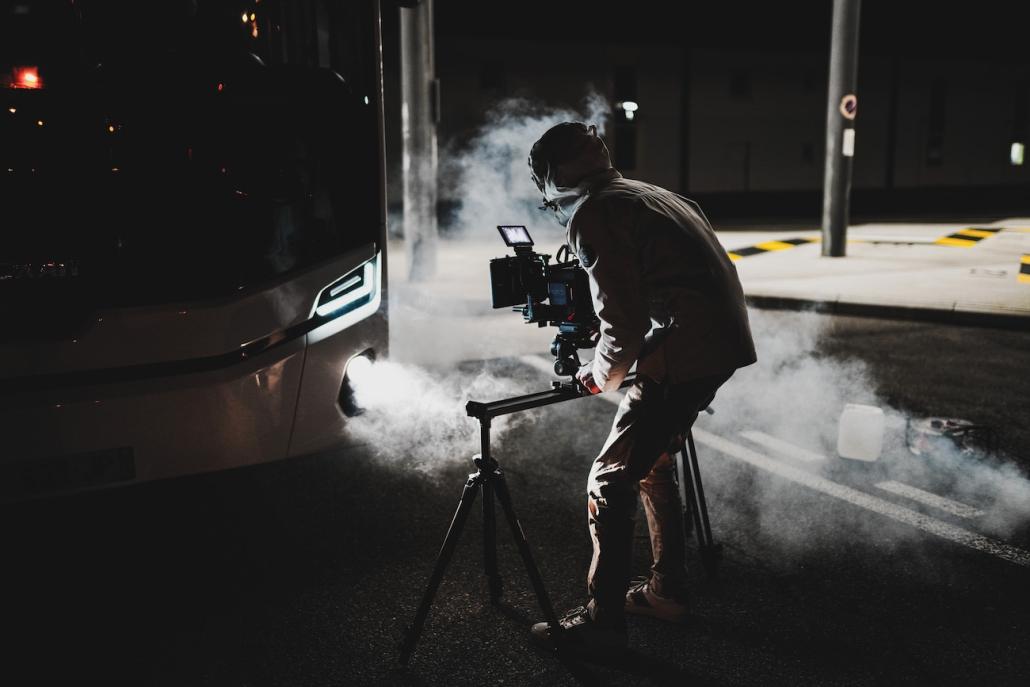 agence de production vidéo clip publicitaire opérateur drone assistant réalisateur chef op