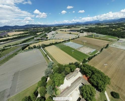 visite panoramique par drone : sphere 360 virtuelle