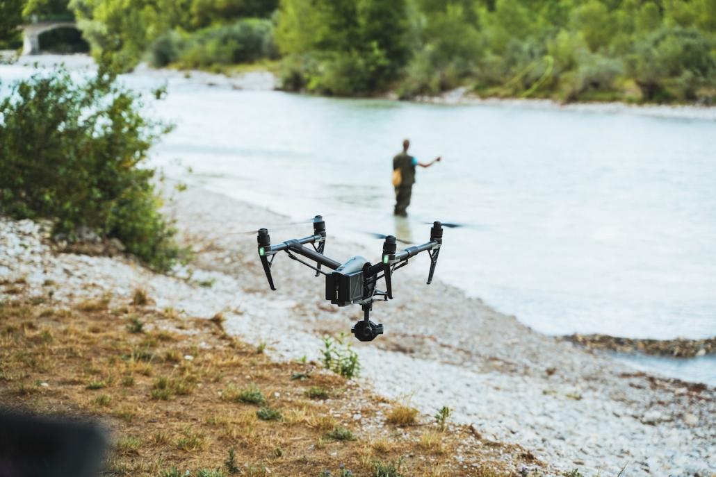 prestataire drone pour films et fiction en Auvergne Rhone Alpes